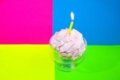 szczęśliwy urodziny Tort Obraz Royalty Free