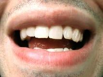 szczęśliwy usta Fotografia Royalty Free