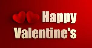 Szczęśliwy valentine Zdjęcia Royalty Free