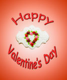 Szczęśliwy valentine Zdjęcie Royalty Free