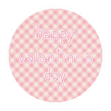 Szczęśliwy valentine s dzień card4 Obrazy Royalty Free