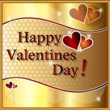 Szczęśliwy valentines dzień. Zdjęcia Royalty Free