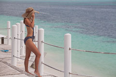 Szczęśliwy wakacje letni obrazy stock