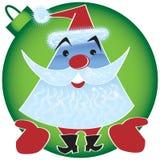 szczęśliwy wakacyjny Santa Fotografia Royalty Free