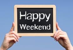szczęśliwy weekend obraz royalty free