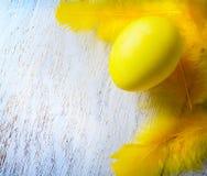 Szczęśliwy Wielkanocnego jajka tło Zdjęcia Royalty Free
