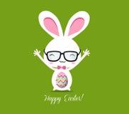 Szczęśliwy Wielkanocny kartka z pozdrowieniami Zdjęcie Stock