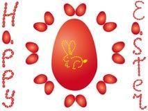 Szczęśliwy Wielkanocny królik Obrazy Stock