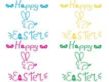 Szczęśliwy Wielkanocny królik Zdjęcia Stock