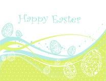 Szczęśliwy Wielkanocny tło Zdjęcia Stock