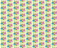 Szczęśliwy Wielkanocny tło, tapeta/ Obraz Stock