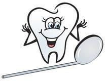 szczęśliwy ząb Zdjęcia Royalty Free