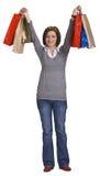szczęśliwy zakupy Fotografia Stock