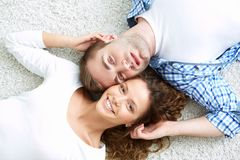 Szczęśliwy związek Zdjęcie Stock