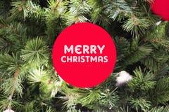 Szczęśliwych Świąt Bożego Narodzenia dla everyone w tym roku zdjęcie stock