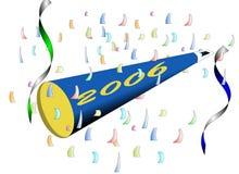 szczęśliwych 2006 nowego roku Zdjęcia Stock