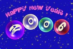 szczęśliwych 2006 nowego roku ilustracji