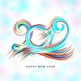 2019 Szczęśliwych nowy rok Ilustracja Wektor