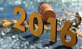 2016 Szczęśliwych nowy rok Zdjęcie Stock