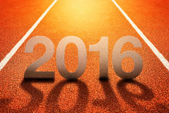 2016 Szczęśliwych nowy rok Fotografia Royalty Free