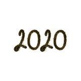 2020 Szczęśliwych nowy rok Obrazy Royalty Free