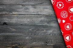 2017 Szczęśliwych nowy rok stołów z cukierem i czekoladą Obrazy Stock