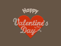 szczęśliwych valentines karciany dzień Zdjęcia Royalty Free