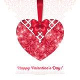 szczęśliwych valentines karciany dzień royalty ilustracja