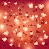 szczęśliwych valentines karciany dzień kocham cię 14 Luty royalty ilustracja