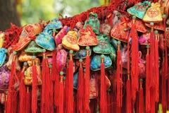 Szczęsliwa kępka dla Chińskiego nowego roku Dekoracyjny, powitanie Obrazy Stock