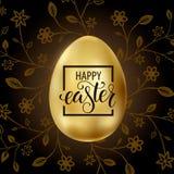 Szcz??liwa wielkanoc, maluj?cy jajka Wiosna wakacje, Wielkanocny t?o Wektorowa ilustracja EPS10 zdjęcia stock