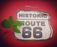 Szczęsliwa trasa 66 Zdjęcie Stock