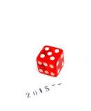 Szczęsliwy nowy rok 2015 Zdjęcia Stock