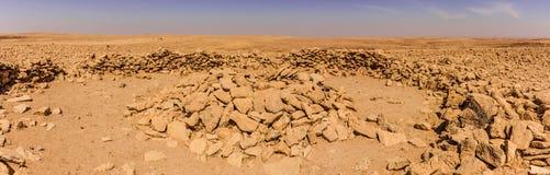 Szcz?tki Neolityczny donios?y grobowiec blisko Riyadh obrazy royalty free