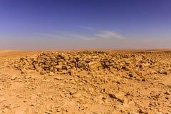 Szcz?tki Neolityczny donios?y grobowiec blisko Riyadh zdjęcie royalty free