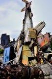 Szczątki USA B-52G bombowiec Zdjęcia Stock