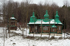 Szczawne Church Stock Photo