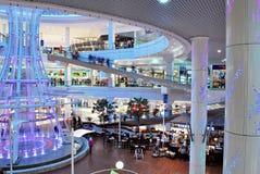 Szczeciński, Polska 01 2016 Wrzesień Galaktyki shoping centrum Zdjęcie Royalty Free