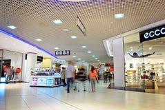 Szczeciński, Polska 01 2016 Wrzesień Galaktyki shoping centrum Zdjęcia Royalty Free