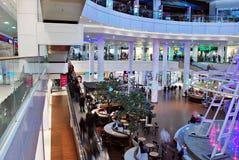 Szczeciński, Polska 01 2016 Wrzesień Galaktyki shoping centrum Fotografia Royalty Free