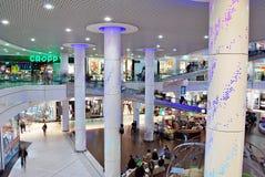 Szczeciński, Polska 01 2016 Wrzesień Galaktyki shoping centrum Zdjęcie Stock