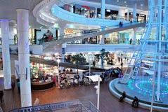Szczeciński, Polska 01 2016 Wrzesień Galaktyki shoping centrum Obrazy Royalty Free