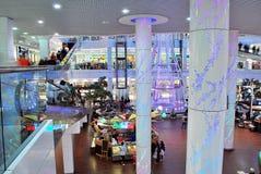 Szczeciński, Polska 01 2016 Wrzesień Galaktyki shoping centrum Fotografia Stock
