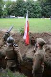 Szczecin, Πολωνία, την 1η Σεπτεμβρίου 2013: Ιστορική αναδημιουργία β Στοκ φωτογραφία με δικαίωμα ελεύθερης χρήσης