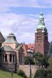 Szczecin- исторические здания стоковые фото