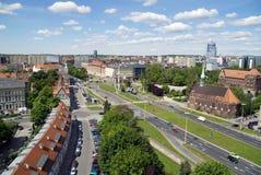 szczecin панорамы города Стоковые Изображения