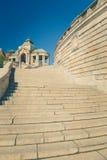 Szczecin - architecture historique/terrasses de Haken Images libres de droits