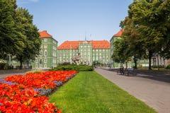 Szczecin - consejo municipal Fotos de archivo libres de regalías