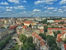 Szczecin en Polonia fotografía de archivo libre de regalías