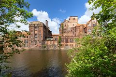 Free Szczecin.  Historic Factory Ruins Of Old Breweries Stock Image - 146740171